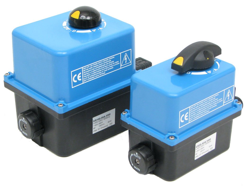 Elektro-Stellantriebe TYP STV - ER Premier,  ER Plus