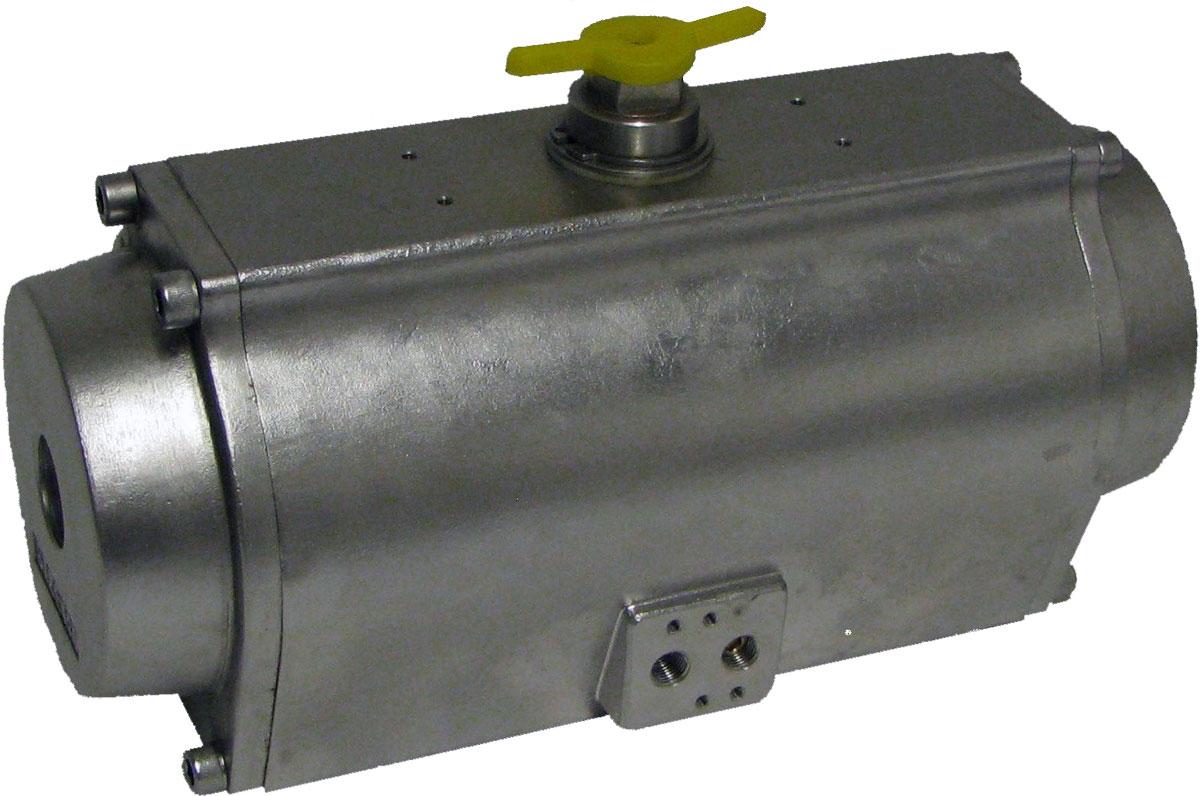 Pneumatische Stellantriebe Edelstahl-Ausführung
