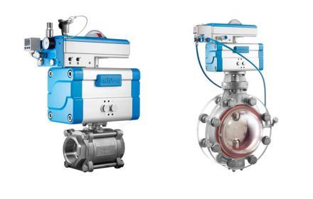 bar-PCS und ICS spezielle Positionerlösungen füt Druckluftnetze und aufblasbarer Dichtung.