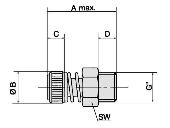Drosseln/Drosselplatte/Ventiladapter